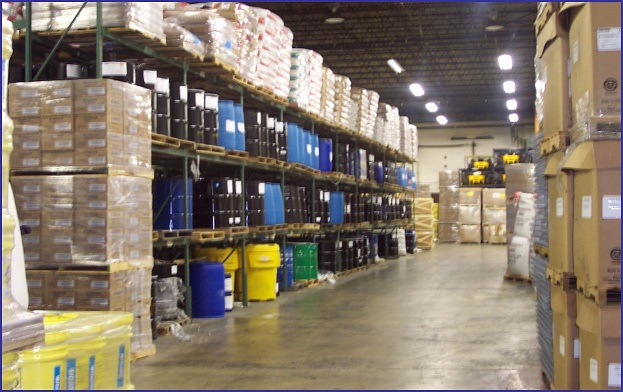 chemical warehousing